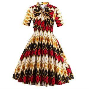 DressLily Dresses - 70s Style Retro Dress
